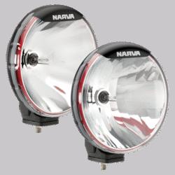 Narva Ultima 225 H.I.D Combination Driving Lamp Kit 12 Volt 50W 225mm dia. Broad Beam, Pencil Beam 71700HID