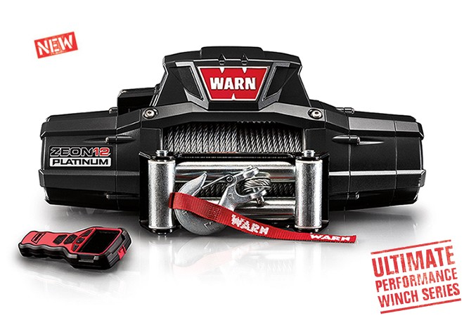 Zeon 12 Platinum Warn Winch | Nuts About 4WD