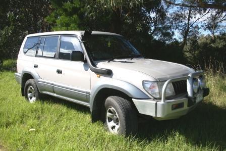 Toyota Prado 90 Series - Petrol 3.4L 12/1997 to 12/2002 Airflow Snorkel S032