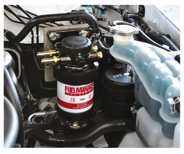Nissan Navara D22 2.5lt Secondary Fuel Filter Kit FM100NAVARAD22