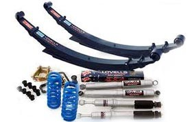 Lovells Suspension kit - NISSAN Navara D40 Pick Up and Dual Cab 12/05 on Coil/Leaf - NISSKIT021-B 1 RAISED