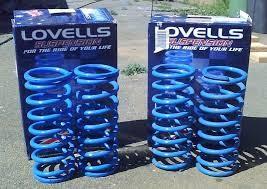 Lovell 80 series Raised Heavy Duty Progressive Coil Springs