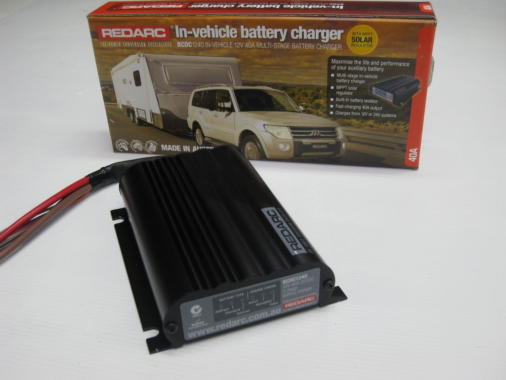 Redarc 1240BCDC-LV In Vehicle Battery Charger