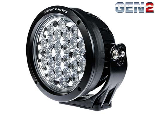 Great White 220 24Led Round Driving Light GWR5243