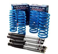 Lovells Suspension Kit - MITSUBISHI Pajero NM Wagon SWB 5/00-10/02 Coil/Coil -  MITSKIT009-B  RAISED