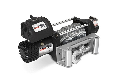 VRS Winch 12V 9500lb with Wire Rope V9500 | Nuts About 4WD