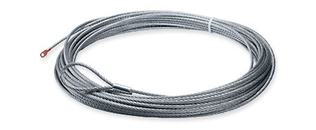 "Warn Wire Rope 8mm x 38M (5/16"" x 125') suits 9.5cti, XD9000i, 38312"
