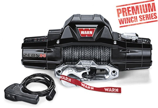 Zeon 8-S Warn Winch | Nuts About 4WD