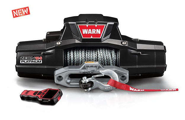 Zeon 12-S Plat. 12000 ZEON-PL-12K-S-96035 Zeon Platinum 12V Winch 24m Spydura Rope | Nuts About 4WD