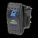Narva Sealed Auxilary light switch 63144BL