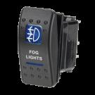 Narva Sealed Fog light switch 63134BL