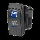 Narva Sealed Roof light switch 63146BL